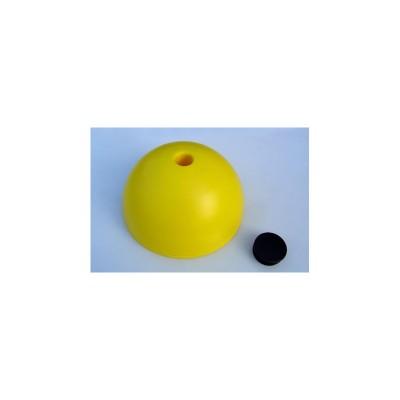 33401  Конус основа с дупка за колче - полукълбо за маркиране