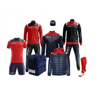 Спортен комплект Box Vesuvio Blue/ Red, ZEUS