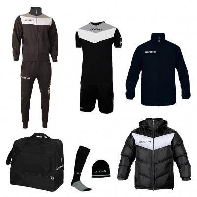 Футболен комплект Box Concept, Givova - 7 ч.