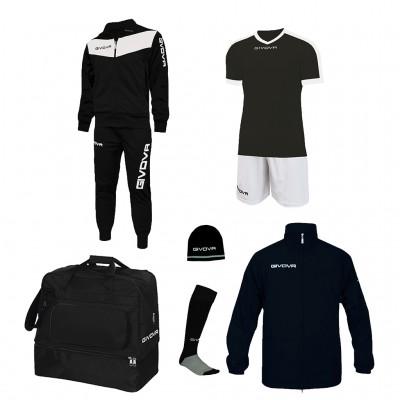 Футболен комплект Box Concept, Givova - 6 ч.